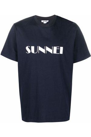 SUNNEI T-shirts - Logo-print cotton T-shirt