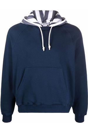 SUNNEI Stripe-print cotton hoodie