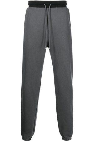 John Elliott Men Sweatpants - 1992 colourblock drawstring joggers - Grey