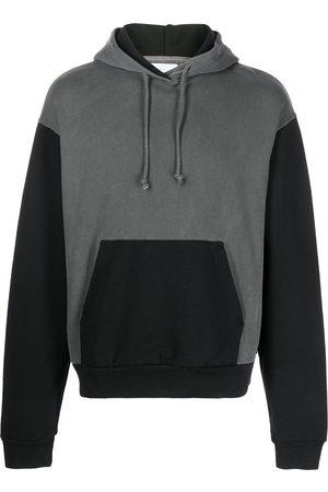 John Elliott Men Hoodies - 1992 two-tone cotton hoodie - Grey
