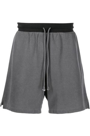 John Elliott 1992 cotton track shorts - Grey