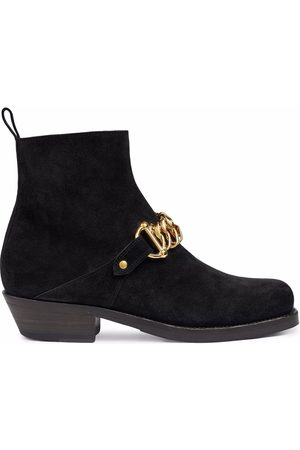 Gucci Women Ankle Boots - Chain-link detail ankle boots