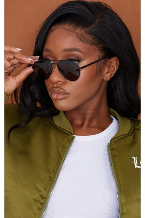 PrettyLittleThing Women Aviators - AIRE Atmosphere Aviator Sunglasses
