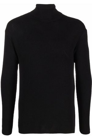 LEMAIRE Roll-neck ribbed-knit jumper