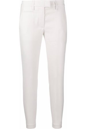 DONDUP Women Formal Pants - Cropped tailored trousers