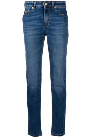 Versace Jeans Couture Women Skinny - Logo-print skinny jeans