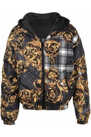 Versace Jeans Couture Baroque-print jacket