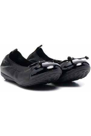 Geox Kids High-shine ballerina shoes