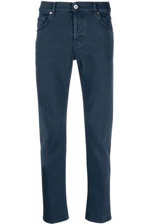 Dondup Men Straight Leg Pants - Five-pocket cotton trousers