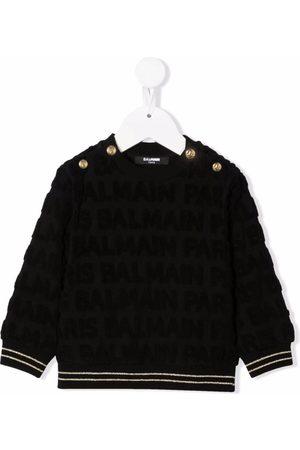 Balmain Kids Button detail jumper