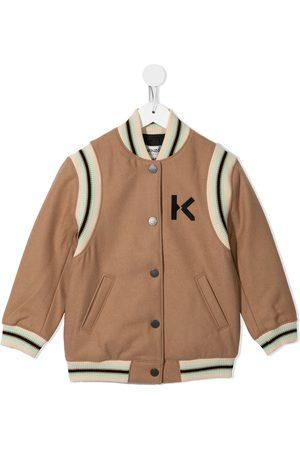 Kenzo Kids Bomber Jackets - Embroidered tiger bomber jacket