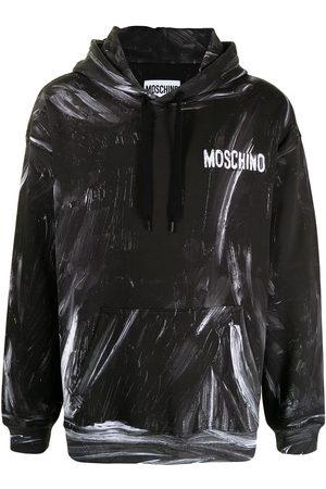 Moschino Men Hoodies - Logo-print pullover hoodie