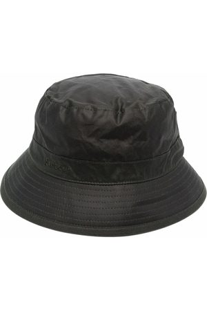Barbour Embroidered-logo bucket hat