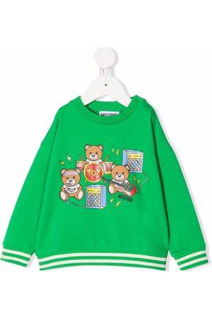Moschino Kids Hoodies - Toy Bear Music sweatshirt