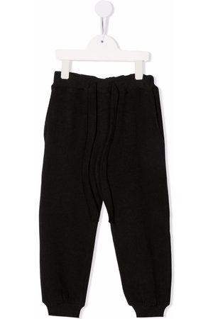 Caffe' D'orzo Girls Sweatpants - Elasticated track pants - Grey