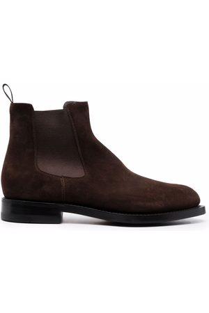 Santoni Men Ankle Boots - Suede ankle boots