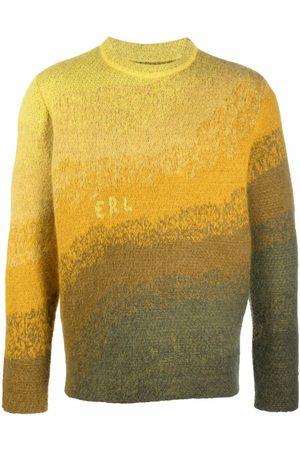 ERL Men Sweatshirts - Gradient-effect knit jumper