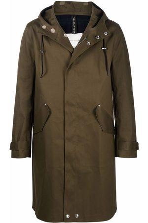 MACKINTOSH Granish bonded-cotton mid-length coat