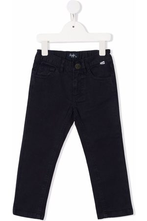 Il Gufo Girls Jeans - Elasticated waistband jeans