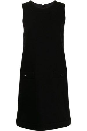 Paule Ka Women Sleeveless Dresses - Sleeveless shift dress
