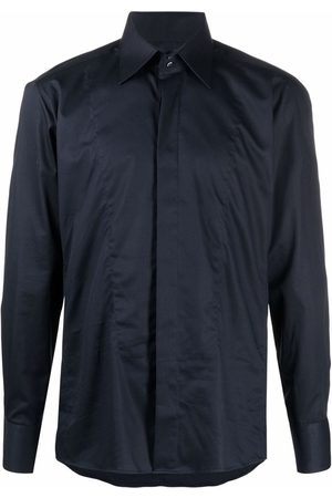 Karl Lagerfeld Plain long-sleeve shirt