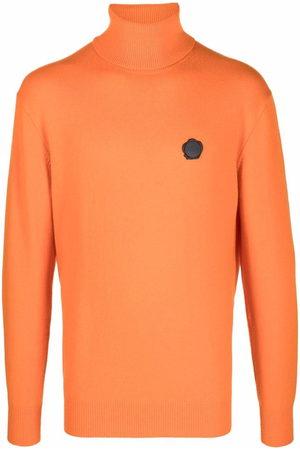 Viktor & Rolf Men Turtlenecks - Roll-neck seal logo jumper