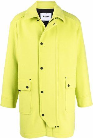 MSGM Long lime coat