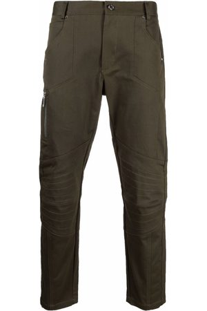 Les Hommes Panelled detail skinny trousers