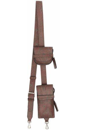 ETRO Paisley-print holster bag