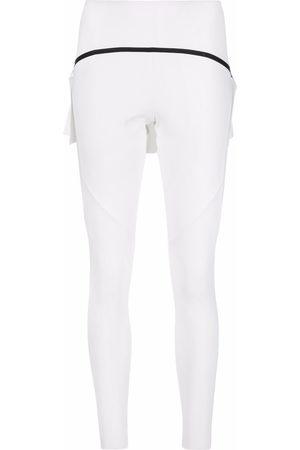 Cesare Paciotti Women Leggings - Panel-detail leggings