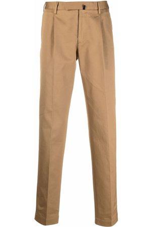 Incotex Straight-leg chino trousers - Neutrals