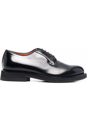 Santoni Lace-up leather derby shoes