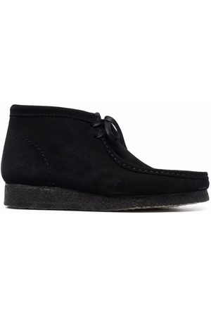 Clarks Originals Men Lace-up Boots - Wallabee suede lace-up boots