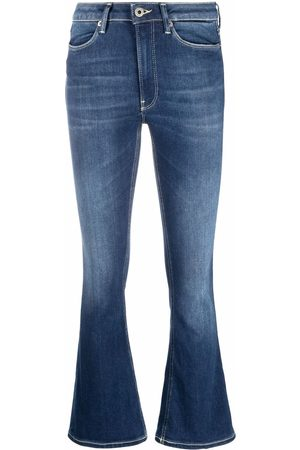 DONDUP Women Straight - Flared cropped jeans