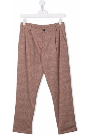 Fay Kids Formal Pants - Teen tailored trousers - Neutrals
