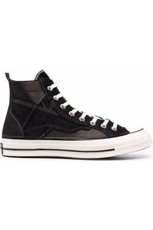 Converse Men Sneakers - Panelled high top sneakers