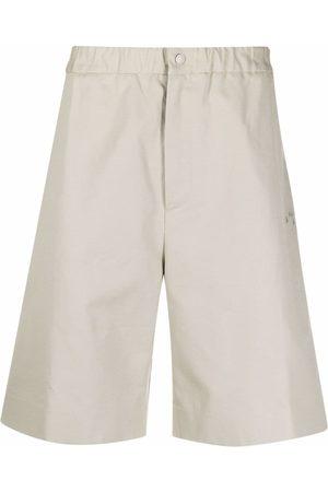 Off-White Men Bermudas - Elasticated Bermuda shorts - Neutrals