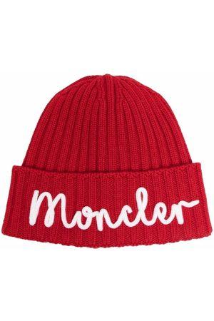 Moncler Enfant Girls Beanies - Knitted beanie hat