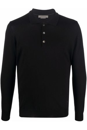 Corneliani Men Polo Shirts - Long-sleeve polo shirt