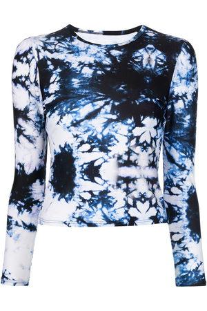 Cynthia Rowley Maui Rashguard tie-dye T-Shirt