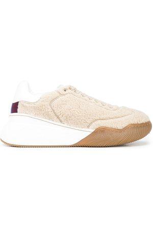 Stella McCartney Women Sneakers - Loop faux-shearling sneakers