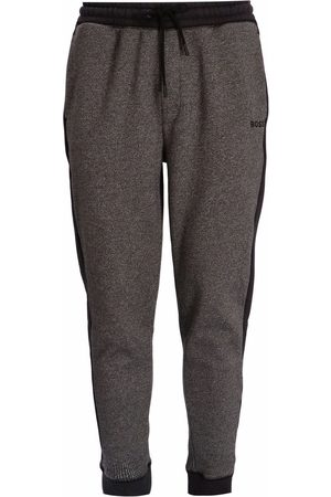 BOSS Houndstooth-print track pants