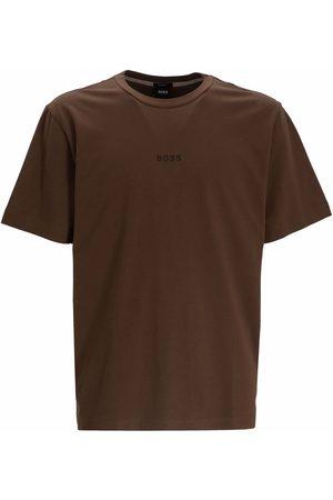 BOSS Micro logo print T-shirt