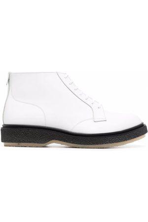 Adieu Paris Men Lace-up Boots - Flat lace-up boots