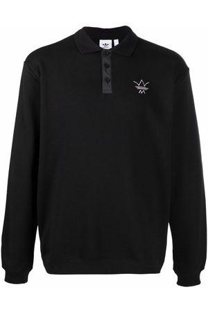 adidas Men Polo Shirts - Embroidered-logo polo shirt