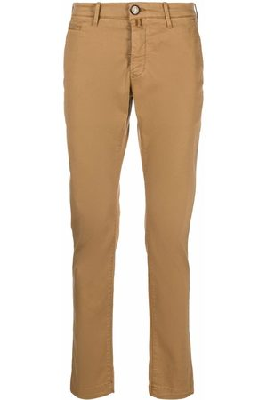 Jacob Cohen Mid-rise slim-fit chinos