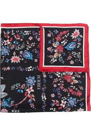 Erdem Women Scarves - Silk floral print scarf