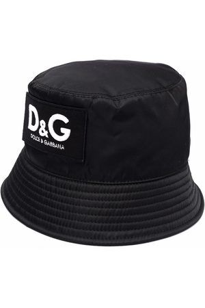 Dolce & Gabbana Men Hats - Logo-patch bucket hat