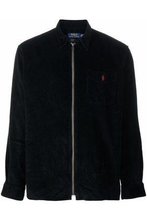 Polo Ralph Lauren Men Bomber Jackets - Polo Pony-motif corduroy jacket
