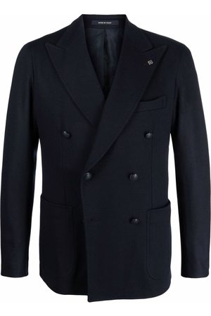 Tagliatore Fitted double-breasted blazer